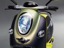 2010巴黎车展:MINIScooterE时尚概念电动车