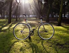 绿色环保的竹子自行车(Bamboocycle)