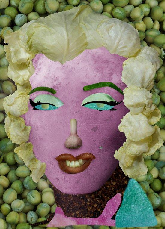 艺术家桔多淇的《蔬菜博物馆》