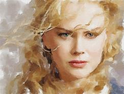 40张漂亮的手绘和数码水彩画作品