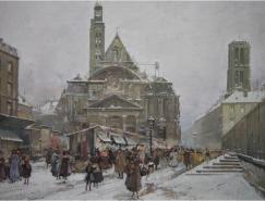 法国画家EugeneGalienLaloue绘画作品欣赏