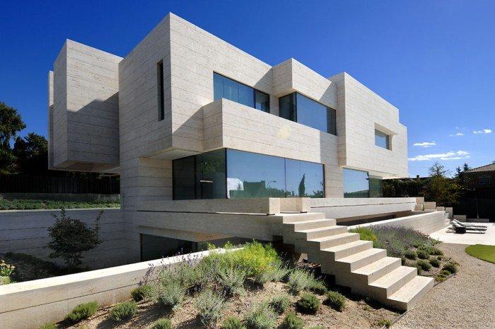 马德里LasRozas豪华住宅设计