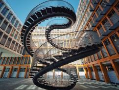 45个漂亮的螺旋楼梯摄影照片欣赏