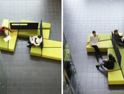 实用的室内公共空间大厅沙发设计