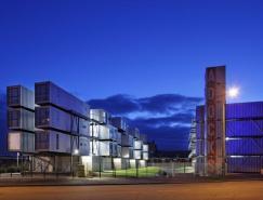 法国旧集装箱改造成住宅:CitéADocks学生公寓