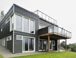 心旷神怡的静谧空间:瑞典一套双层别墅欣赏