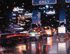 这不是照片:美国画雨的超写实画家gregoryth