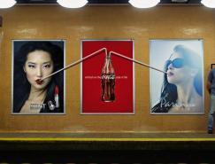 可口可樂(Coca-Cola)戶外創意廣告