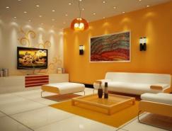 10张国外客厅效果图欣赏