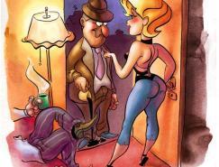 JustinCoffee风趣的角色插画欣赏