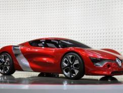 雷诺纯电动双座概念车DeZir