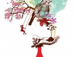 加拿大插画师AnnickPoirier作品欣赏