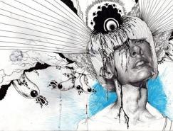 IainMacarthur铅笔画作品