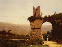 美国著名风景画家GeorgeInness作品欣赏