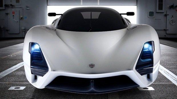全世界最快的量产车:SSCUltimateAeroII