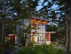 坐拥山林湖景:Davis住宅设计