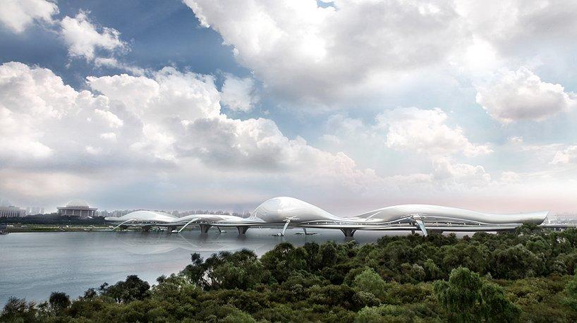概念设计:韩国白南准媒体大桥