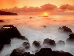 谈日落拍摄的多种表现方法
