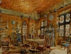 奥地利著名风景类和建筑类画家RudolfRitter&