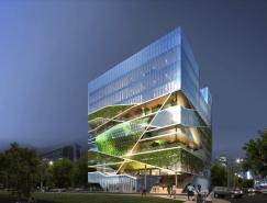 韩国现代建筑:文化森林(文化艺术中心)