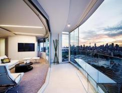 俯瞰悉尼的全景式公寓设计