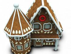 3D風格圣誕節png圖標512X512