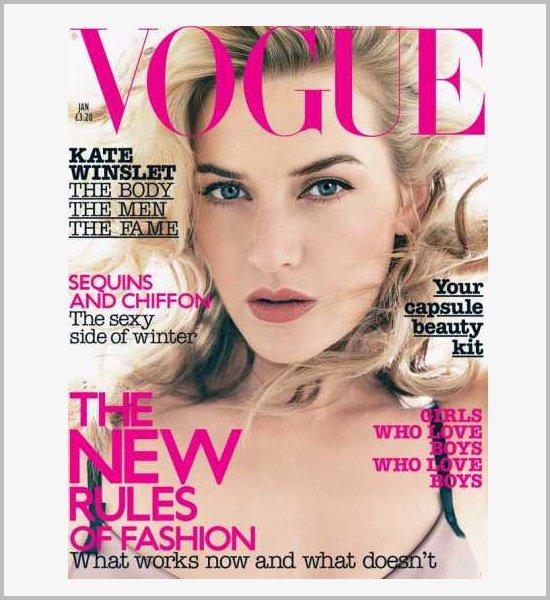 国外多款时尚杂�... Kate Winslet