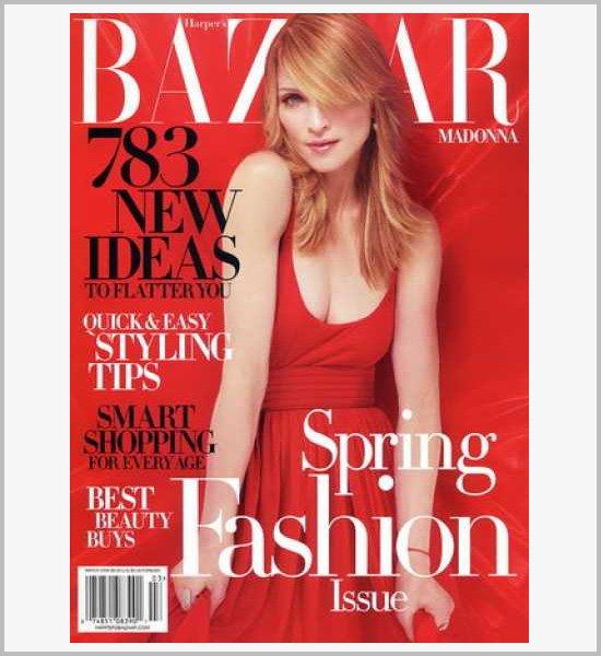 国外多款时尚杂志封面设计欣赏(4)