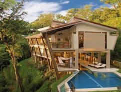 哥斯达黎加丛林中的私人豪华度假别墅