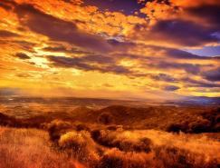 摄影欣赏:北半球的秋天景色