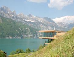 心旷神怡的美景:瑞士Walensee湖岸住宅设计