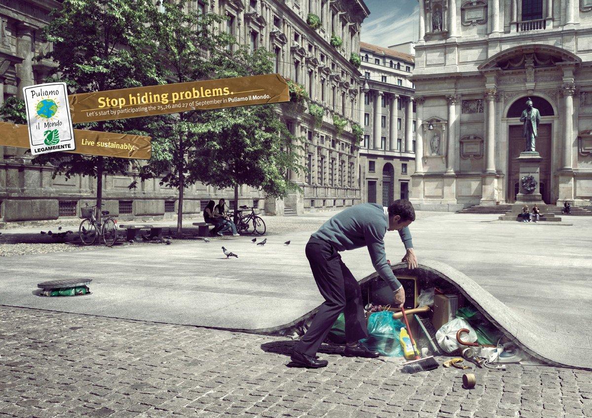 一组优秀的公共服务平面广告设计(3)