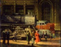 SamuelMichlap油画作品