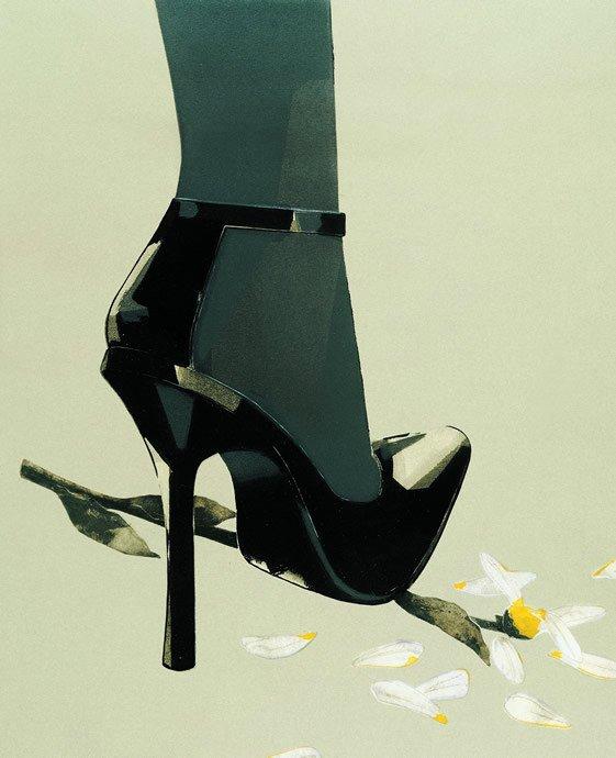 Francois Berthoud经典时装插画作品欣赏 设计