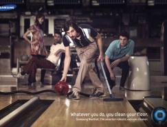 平面广告欣赏:三星清洁机器人NAVIBOT