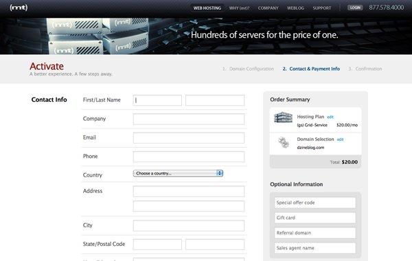 30个漂亮的网页表单设计欣赏(2)