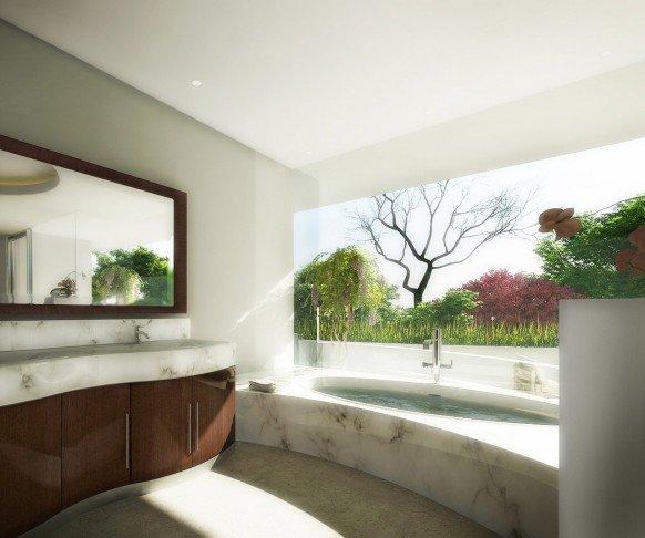 精美浴室设计效果图欣赏 - 设计之家