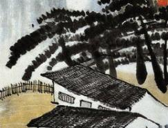 中国近代山水名画欣赏