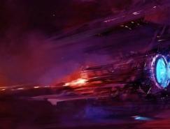 未來飛船科幻插畫欣賞