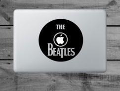 35个超酷创意的MacBook和iPad贴纸