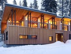 加州冬季美丽的山村:Sugarbowl住宅设