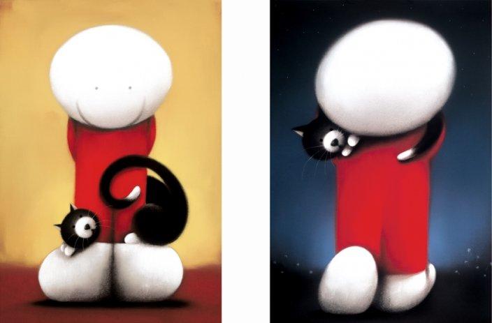 hyde可爱的小白插画作品(3)