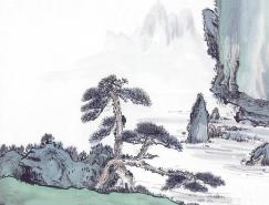 中国笔墨山水画欣赏
