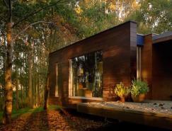 森林深处美丽的家:Tellada住宅设计