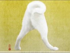 日本插画家YorikoYoshida字母插画艺术
