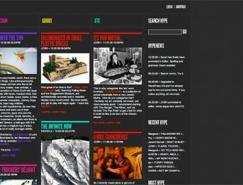 30例网格系统布局网站设计欣