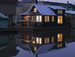 令人印象深刻的漂浮住宅设计