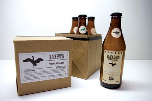 國外啤酒箱創意包裝設計