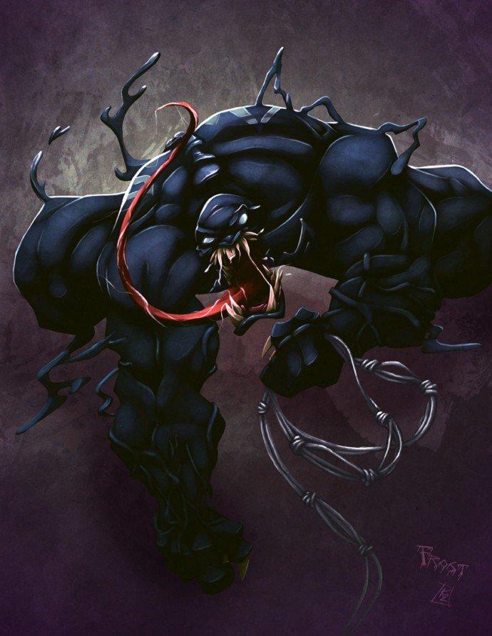 艺术家Kendrick Tu的Marvel漫画角色设计