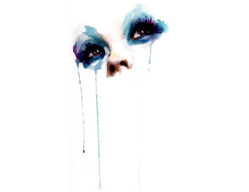 bolognesi眼睛系列水彩画作品欣赏